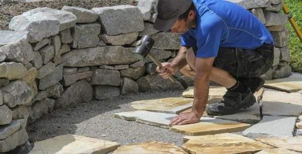 montaj piatra naturala,