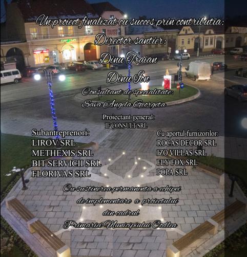 proiect centru istoric Codlea